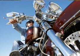 Ride your motorcycle safety and wear a helmet in tulsa oklahoma.