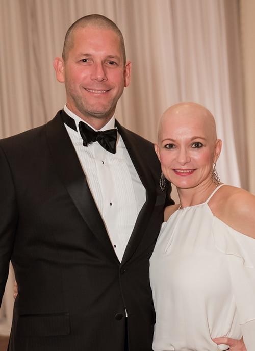 Chad McLain and his wife Alicia