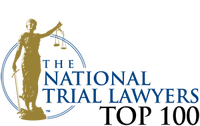 Logo for Top 100 National Trial Lawyers